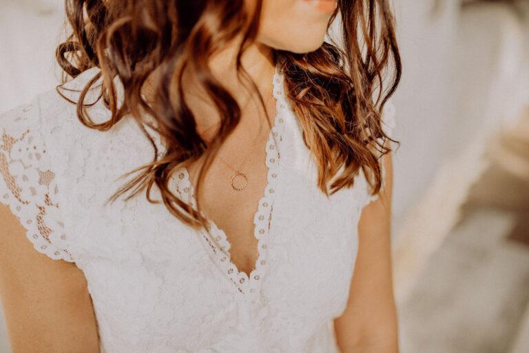 Boho Kette Gold Verbundenheit Hochzeitskleid