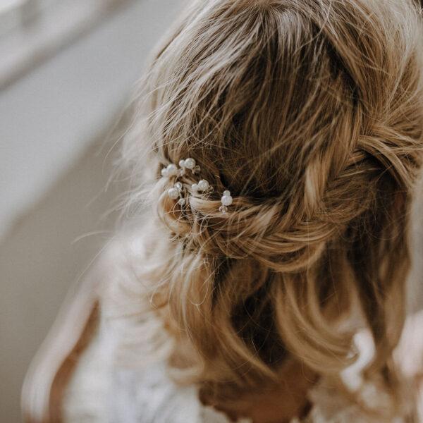Brauthaarnadeln Brautfrisur