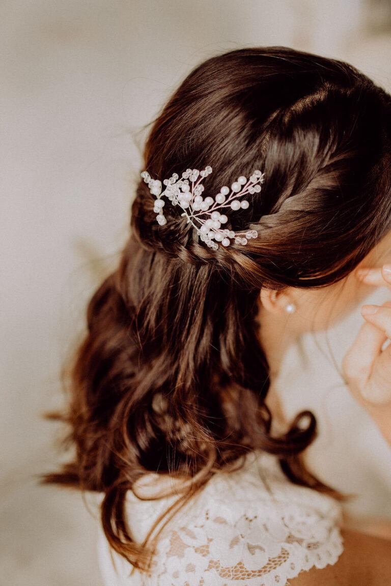Haarnadeln Perlen optimal für die Braut