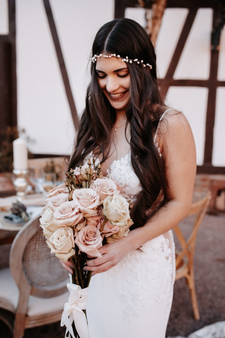Haarschmuck Braut Kopfschmuck Süßwasserperlen Gold