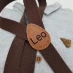 Kinderhosentraeger Braun Leo