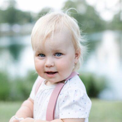 Kinderhosenträger Rosa Maila