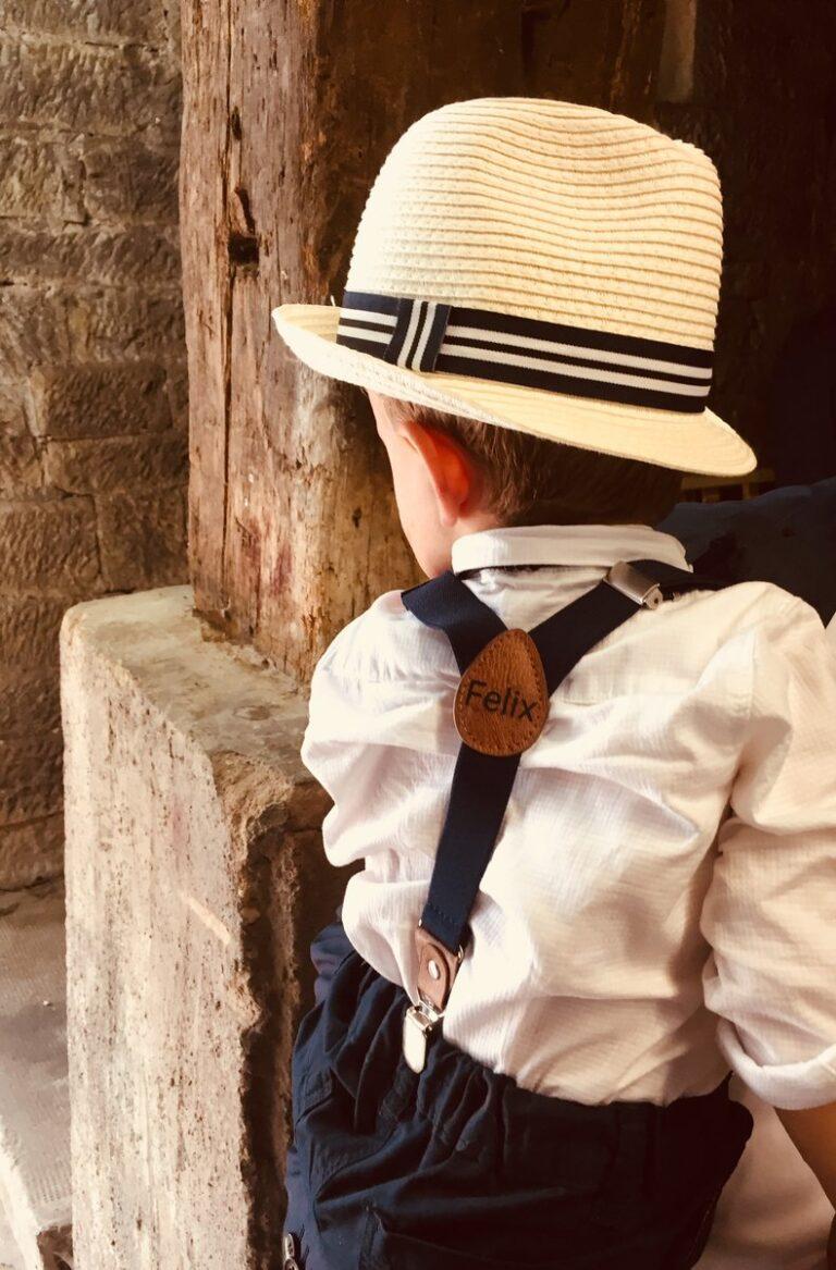 Kinderhosentraeger dunkelblau Felix