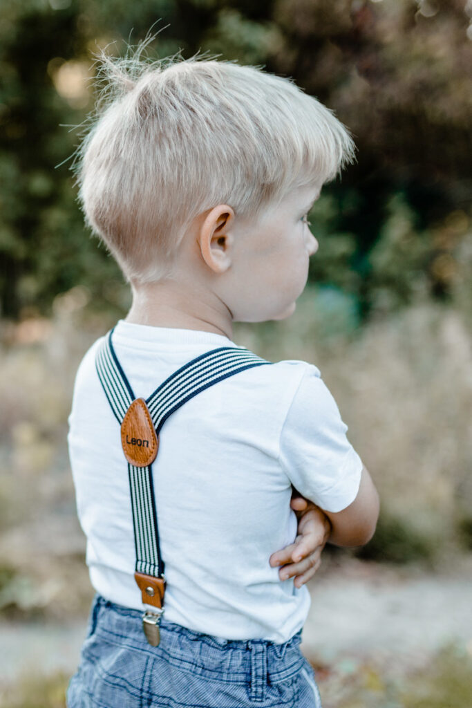 Kinderhosenträger mit Gravur