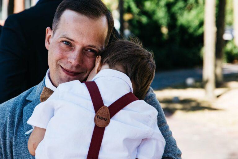 Kinderhosentraeger weinrot Franz