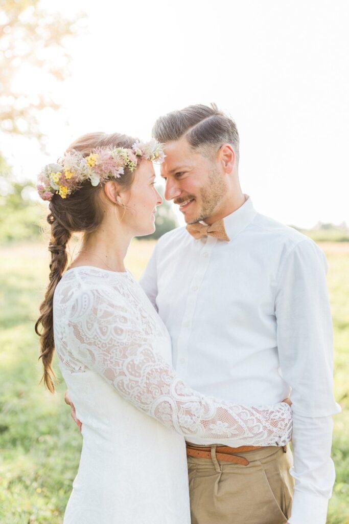 Korkfliege Tragebild Hochzeit