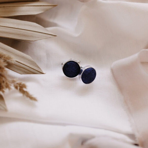 Manschettenknöpfe dunkelblau