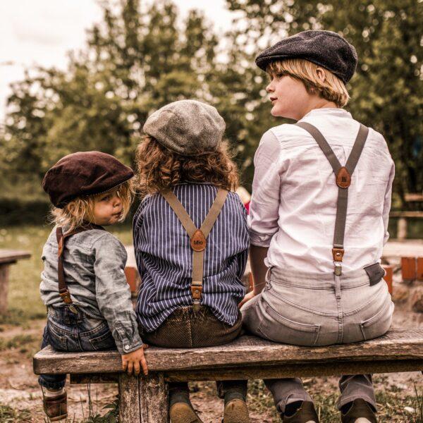 Personalisierte Hosenträger mit Namen Gravur Kinder