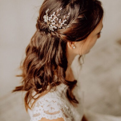 Vintage Boho Wedding Haarnadeln Gold